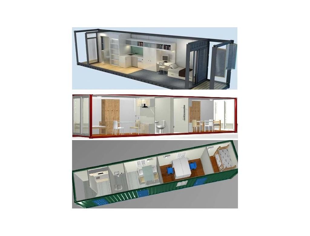 Casa contenedor 40 pies euro punto ahorro - Precio casa contenedor ...